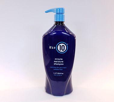 Its a 10 Moisture Shampoo